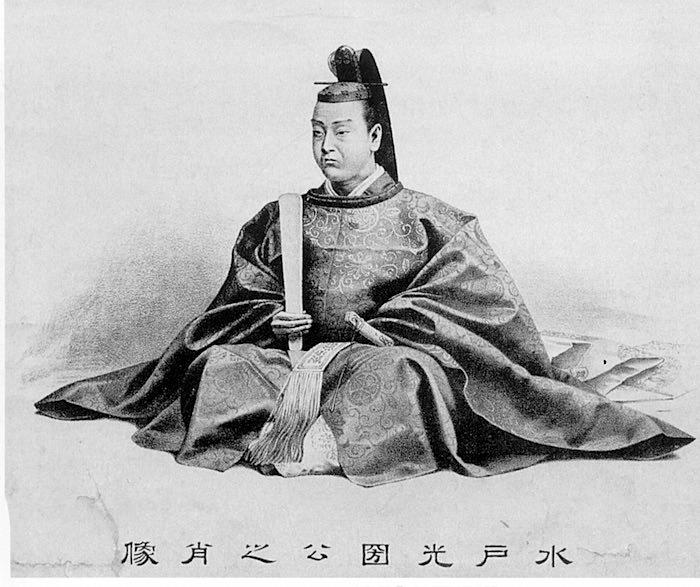 徳川光圀(水戸黄門)の肖像画(作は明治時代以降)
