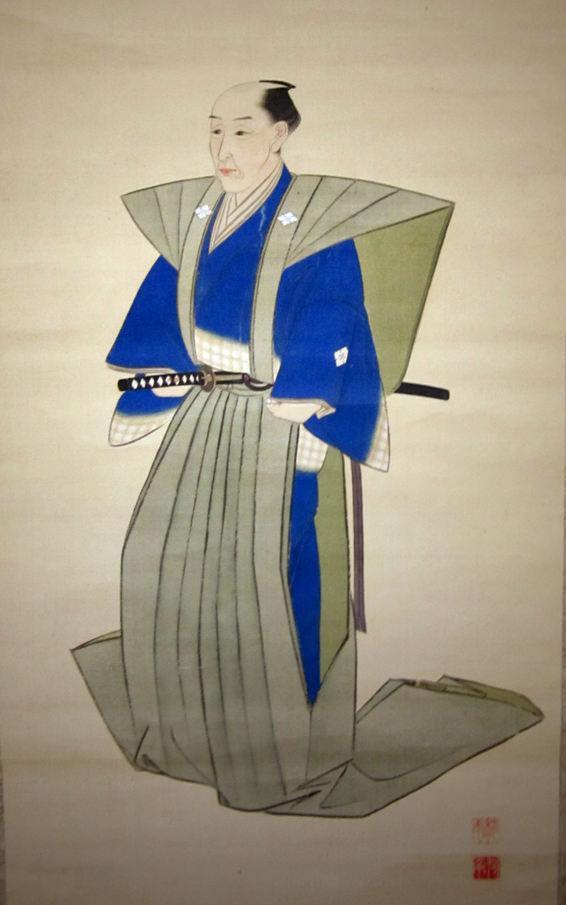 蠣崎波響の肖像画