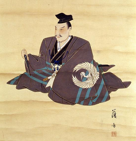 関孝和の肖像画