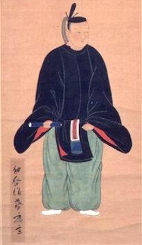 東郷重位の肖像画