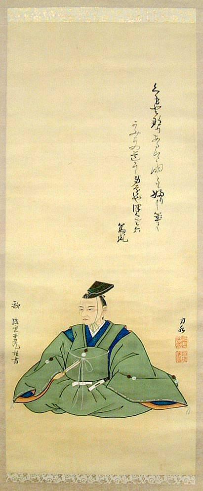 平田篤胤肖像(画・渡邊刀水)