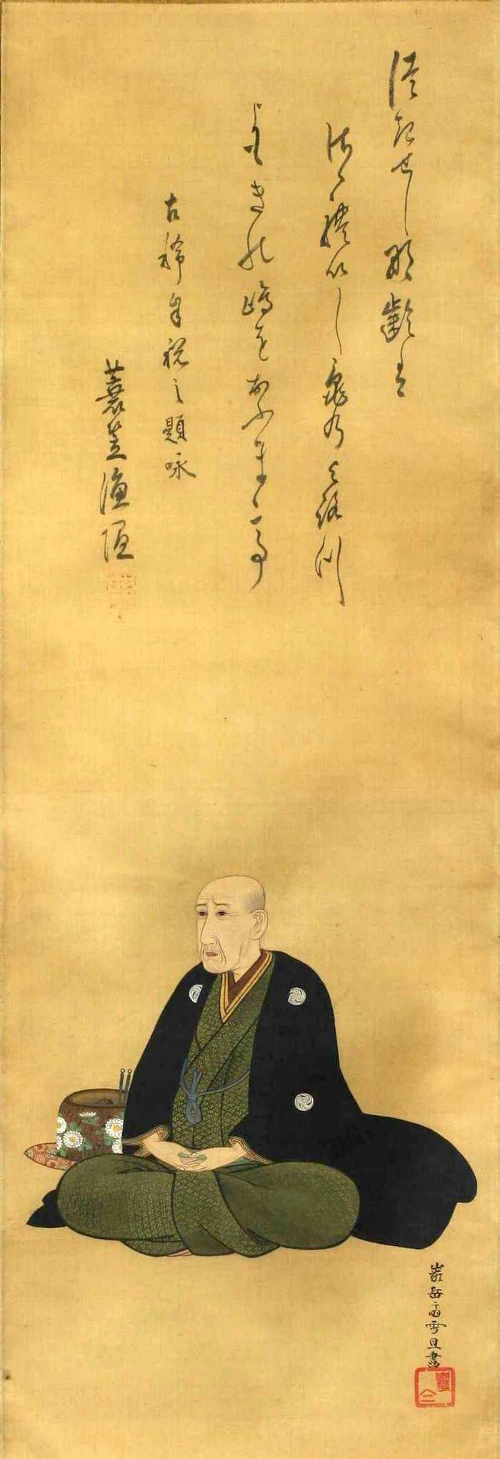 曲亭馬琴の肖像画