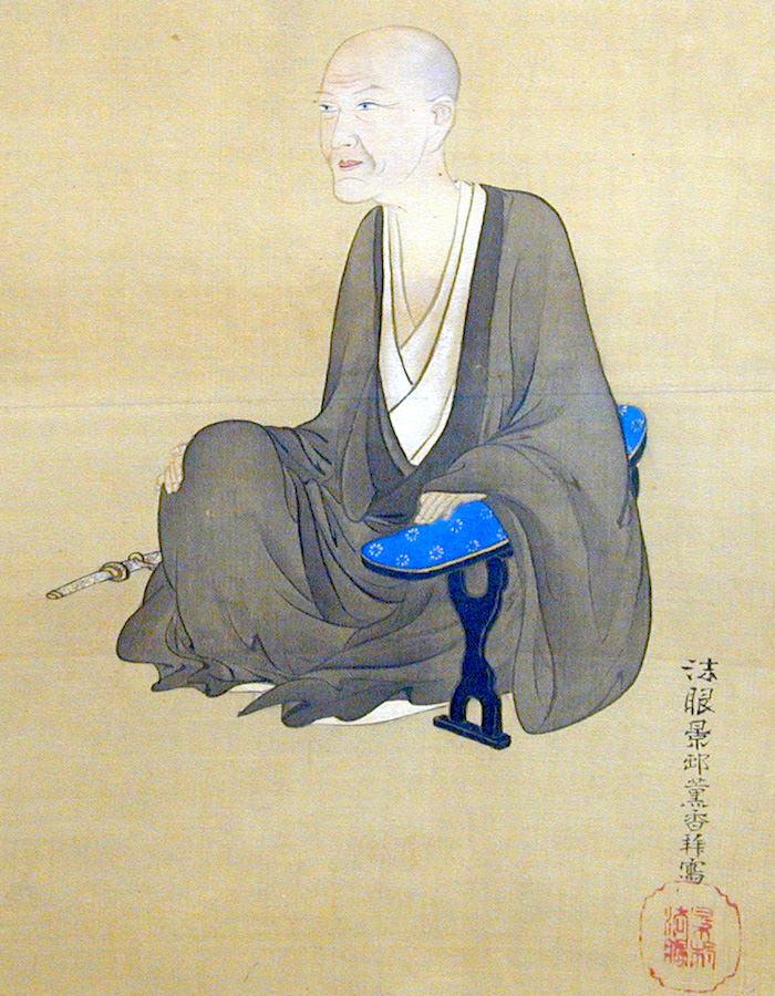酒井抱一の肖像画