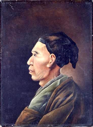 司馬江漢の肖像画
