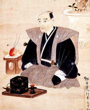 細井平洲の肖像画